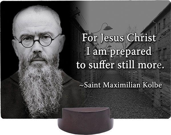 """father maximilian kolbe Fr maximilian kolbe - wikipedia commons  saint maximilian kolbe, august 14:  franciscan, martyr of charity """"the man who trusted mary."""