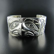 Thunderbird Bracelet in Silver