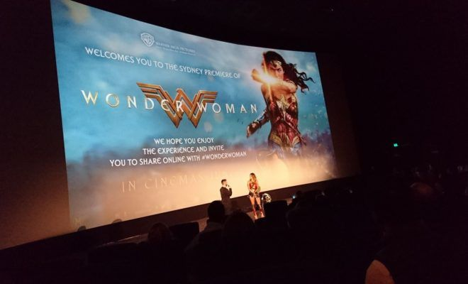 Wonder Woman Premiere In Sydney