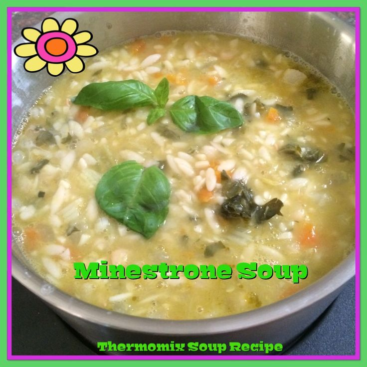 Minestrone Soup ... Great on a cold winters day!