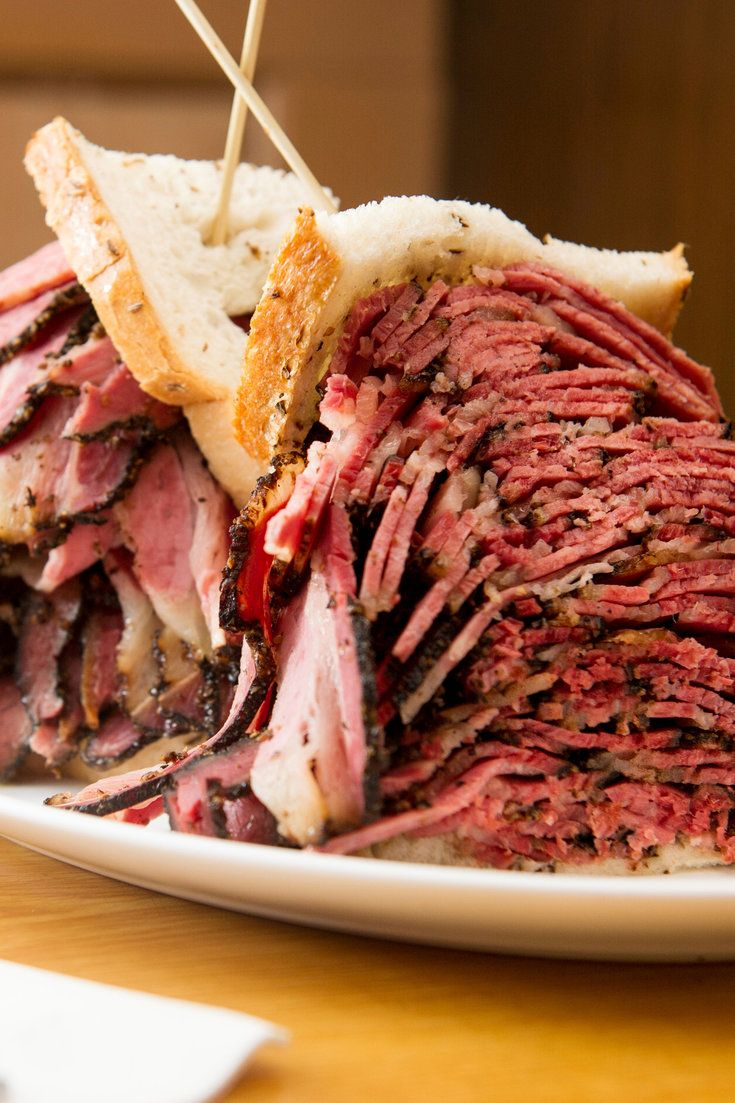 Pastrami at the Carnegie Deli in New York. (Photo: Evan Sung for The New York Times)