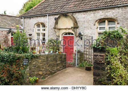 Chipping Sodbury a small rural  town in Gloucestershire England UK   The  friends meeting house - Stock Image