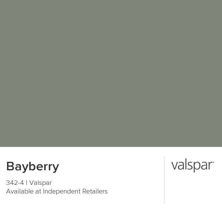 valspar bayberry