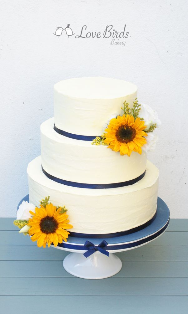 how to make icing sunflowers