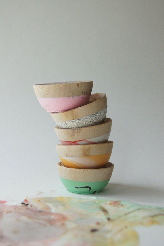 Ice Cream inspired Mini Bowls