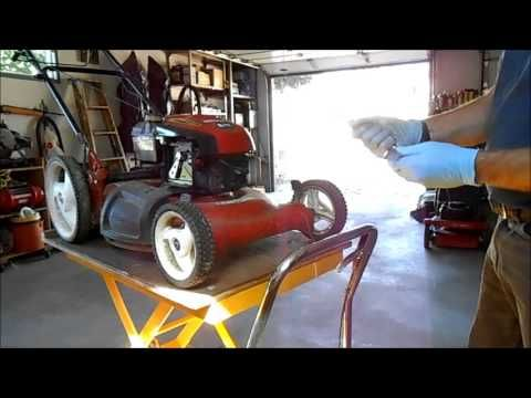 ▶ A Lawn Mower That Starts then Stalls - YouTube: Watch this trusty handyman to troubleshoot the lawnmower you just dug out from the shed.
