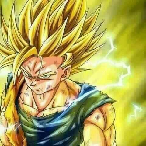 Goku ss2 #dbz #dragonball