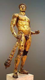 Hércules Capitolino, clasicismo, siglo II a. C. Museos Capitolinos.