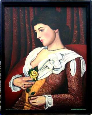 The Jersey Lilly: portrait of Lilly Langtree