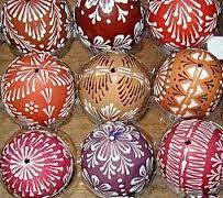 vajíčka zdobená voskem - Hledat Googlem