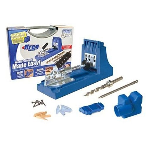 Kreg K4 Pocket Hole Jig Set Drill Guide 256272 Removable drill guide 4 benchtop