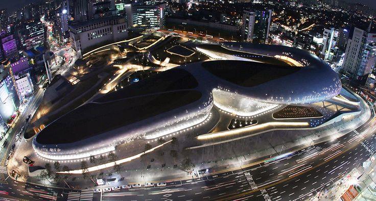 동대문디자인플라자 설계한 세계적 건축가 자하 하디드 별세 - 1등 인터넷뉴스 조선닷컴 - 큐레이션