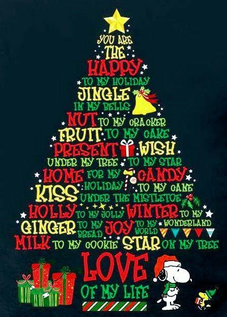 snoopy & the Christmas tree