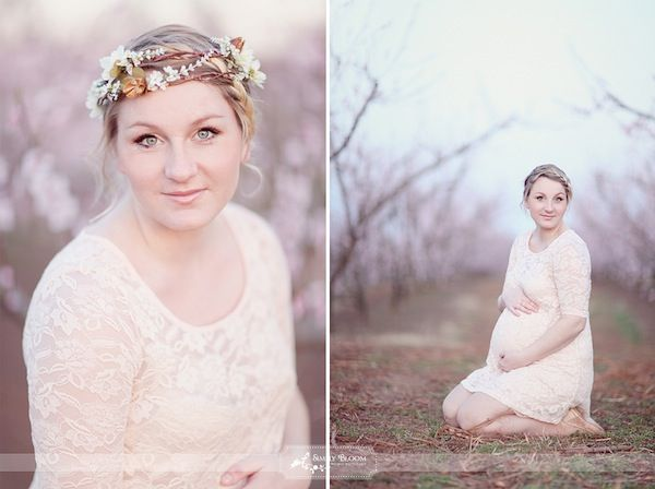 A Blooming Peach Orchard MaternitySession by Simply Bloom Photography