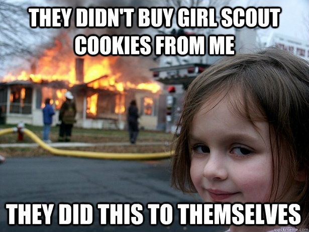 Funny Meme For Girl : 67 best girl scout humor images on pinterest girl scouts ha ha