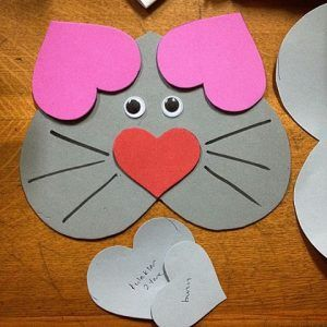 Valentine's Day craft idea for kids | Crafts and Worksheets for Preschool,Toddler and Kindergarten