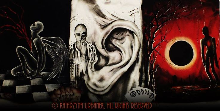 """""""Metamorphosis 3 - Nymphe """" , """"Metamorphosis 3 - I hear your voice... """", """"Metamorphosis 2 - Eclipse """". © Katarzyna Urbanek, All rights reserved"""