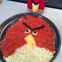 Amazing Whole Wheat Pizza Crust | We'd flock to this #AngryBird Pizza! Such an adorable idea by Erica. How would you make your own pizza inspired by the Angry Birds?: Dinner, Angrybirds Pizza, Pizza Inspired, Cute Ideas, Angrybird Pizza, Adorable Idea, Whole Wheat Pizza, Angry Birds