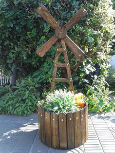 Αποτέλεσμα εικόνας για floreiras de madeira de parede