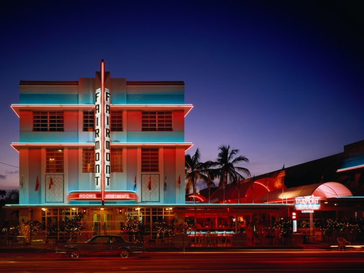 South Beach's Art Deco District claims the largest concentration of 1920s and 1930s architecture in the world, drawing visitors all over to revel in Miami's retro-fabulous style.