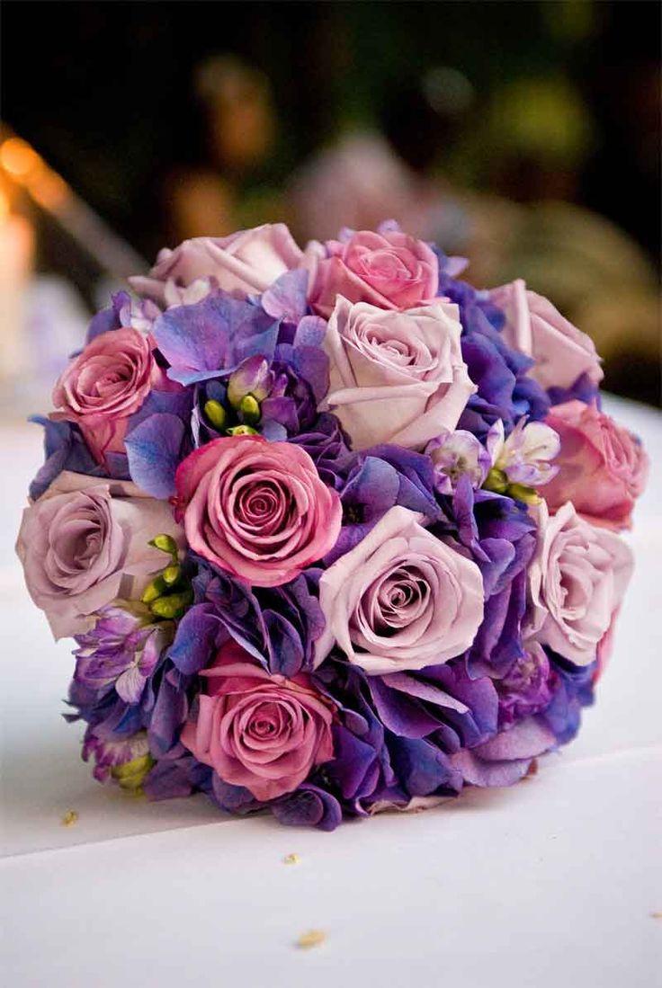 43 best purple inspiration images on pinterest flower arrangements beautiful purple bouquet izmirmasajfo Choice Image
