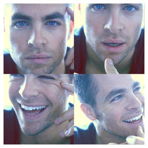 Chris Pine. marry me