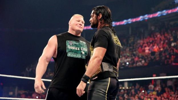 WWE: Brock Lesnar volvió para encarar a Seth Rollins (VIDEO)