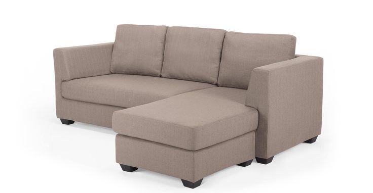 Newark Corner Sofa, Eider Brown - Interchangeable!!