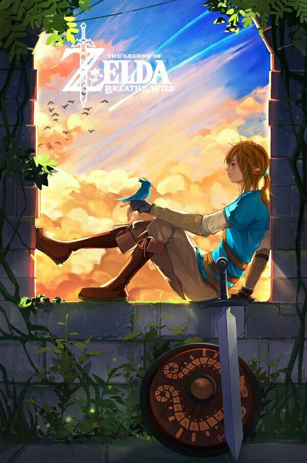 Zelda, Breath of the Wild, fanart