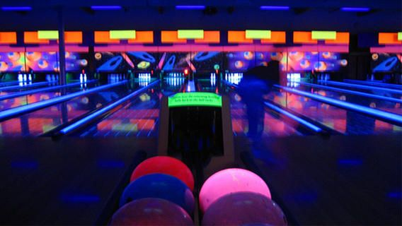 Image Result For Neon Bowling Dadchella Pinterest