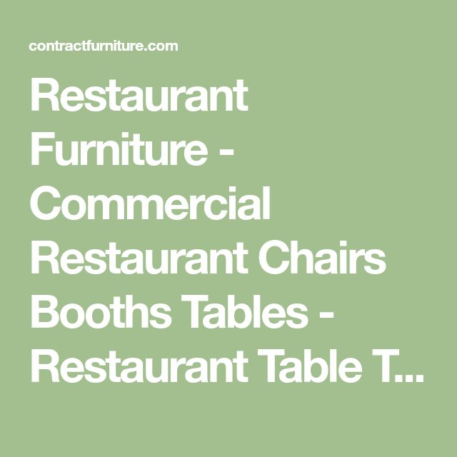 Best 25+ Restaurant tables and chairs ideas on Pinterest - category esszimmer continued