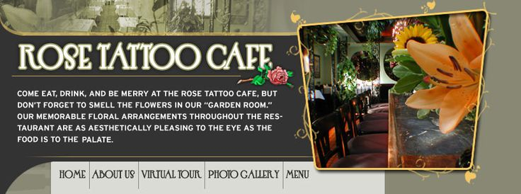 Rose Tattoo: Light menu with delicious apps. So close to Free library!