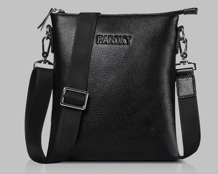 Мужская сумка планшет из натуральной кожи. Сумка через плечо