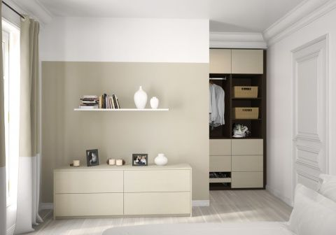 Chambre avec dressing by Sogal