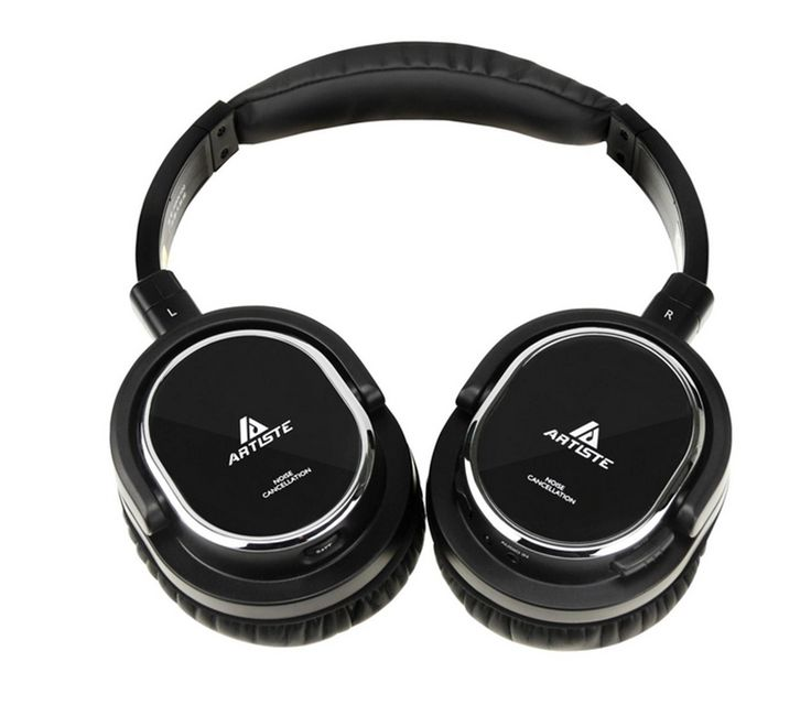 36.75$  Watch here  - Active Noise Cancelling Headphone Artiste ARKON AWN100 Noise Reduction Headset Auriculares Separable Cable With Microphone