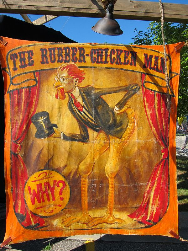 Untitled Circus Poster Halloween Clown Creepy