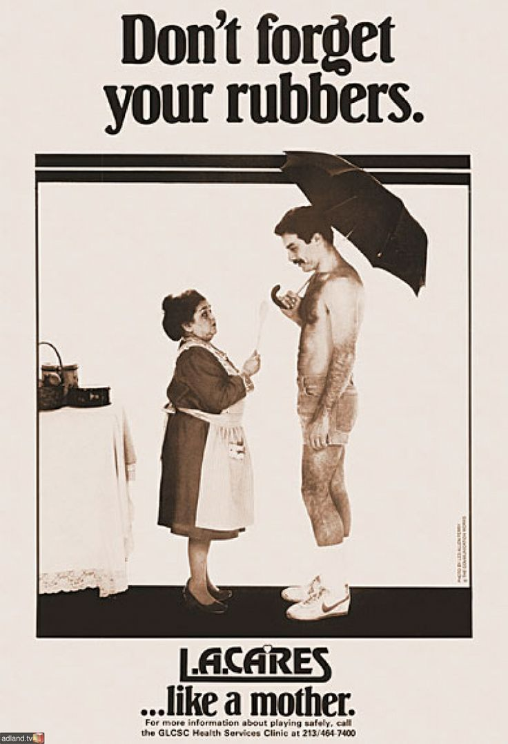 """AIDS poster """"Don't forget your rubbers"""" 1984, USA  Read more at http://adland.tv/ooh/aids-poster-dont-forget-your-rubbers-1984-usa#R4ujkAe2FW3D2kb4.99"""
