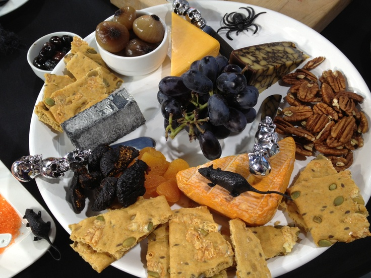 Black & Orange Cheese Platter