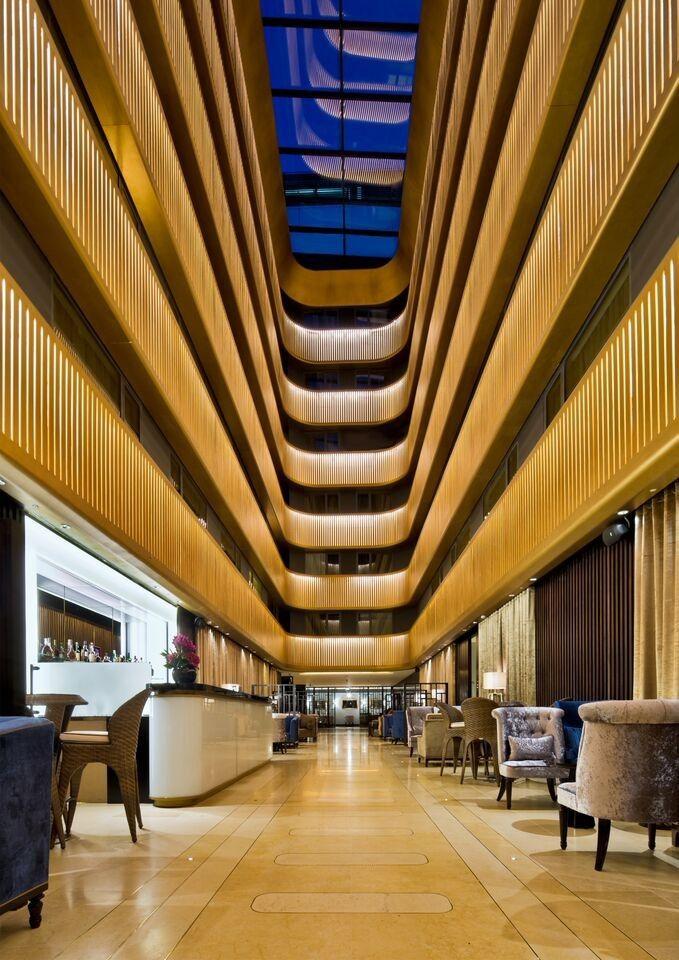 Presentan los 50 proyectos finalistas del World Interior of the Year 2015,Shepherd's Bush Pavilion Hotel; Londres / Flanagan Lawrence. Imagen cortesía de INSIDE