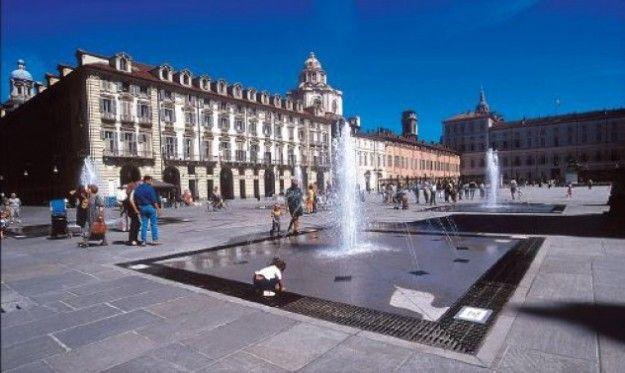 Torino, Piazza Castello.