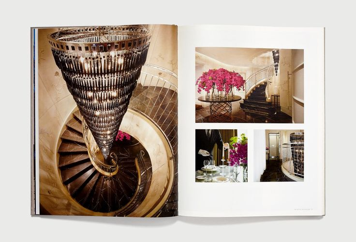 Corinthia London Penthouses by Inaria. Luxury hotel brand identity. Branding, brochure design and art direction.