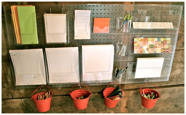 writing station - an idea for outside my classroom?