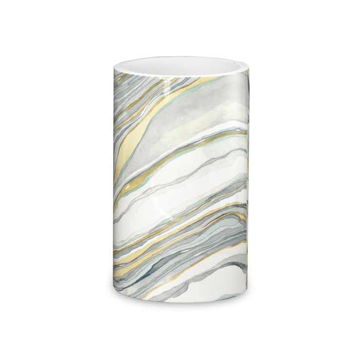 Popular Bath Shell Rummel Sand Stone Tumbler, Multicolor