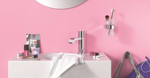 Vrouwelijke badkamer
