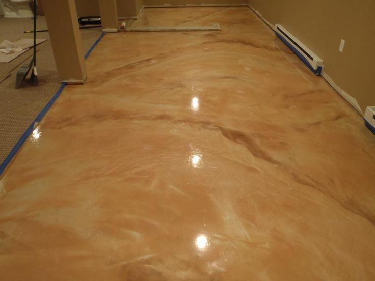 Metallic Epoxy Marble Vein Metallic Epoxy Floor   Diamond Kote Decorative  Concrete Resurfacing And Epoxy Floors