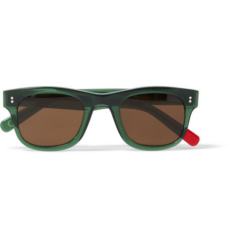 Oliver Spencer Bert Square-Frame Sunglasses