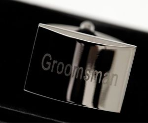 Mens Cufflinks Groomsman