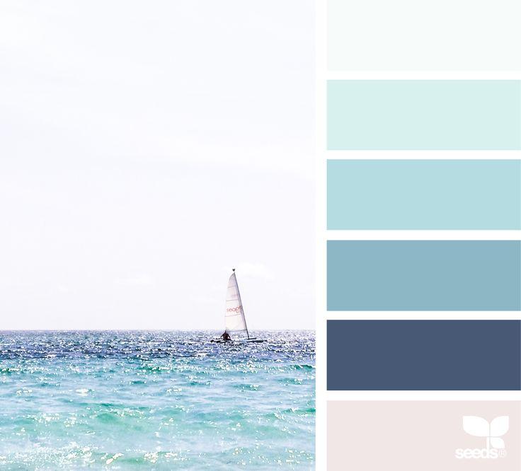 { color sail } image via: @lisaridgelyphotography #color #palette #designseeds #design #seeds #seedscolor