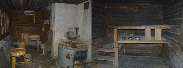sauna of Jean Sibelius.  Ainola, Finland.
