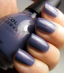 Sinful Colors Zeus... Dusty blue with a pink shimmer? I needs it.